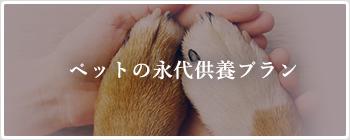 ペットの永代供養プラン